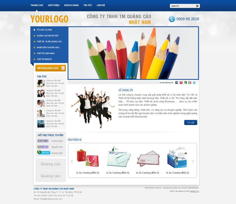 Website Quảng cáo
