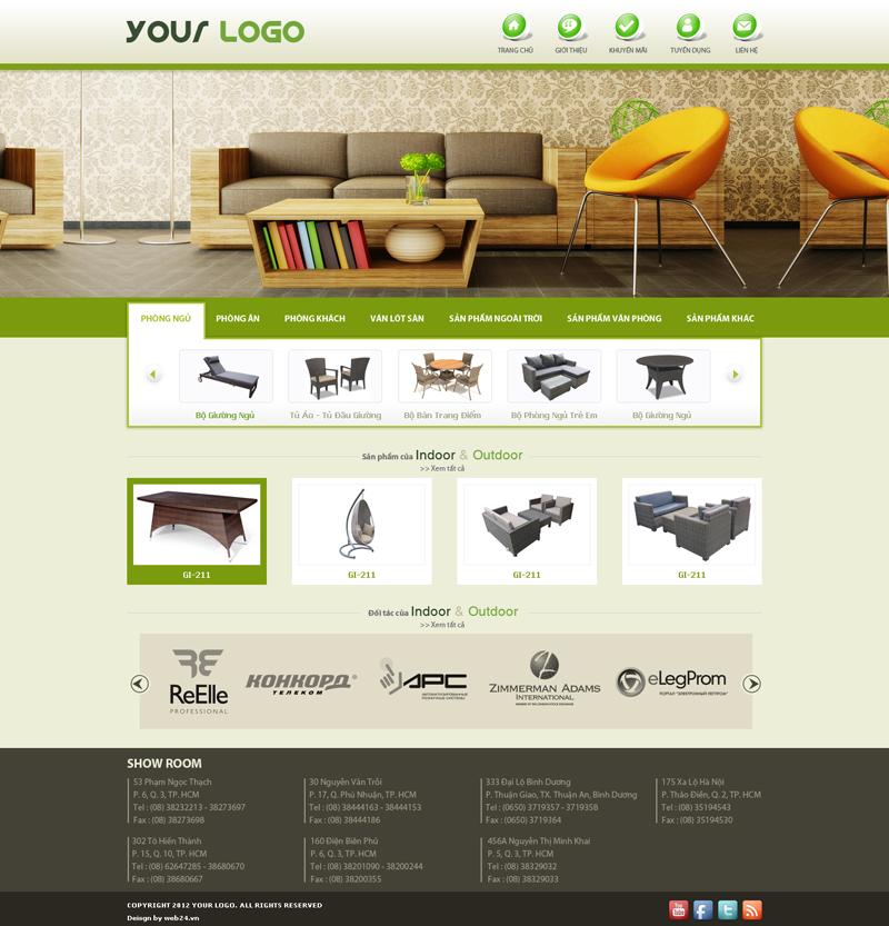 Website Nội Thất 2