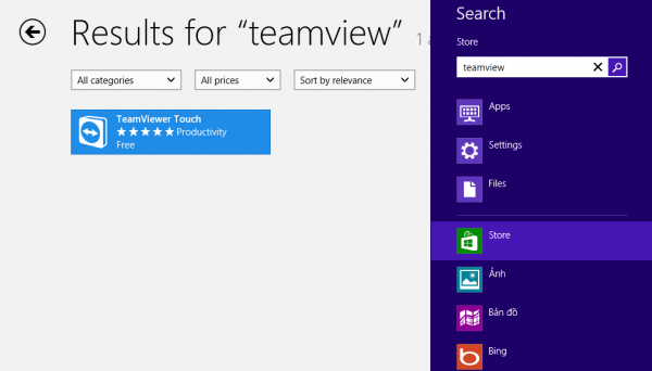 Microsoft ra mắt Teamviewer Touch cho Windows 8
