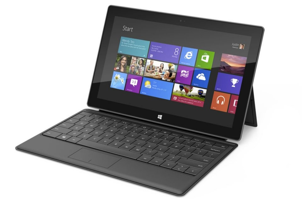 Tablet Surface Windows 8 Pro có giá ngang tầm Ultrabook