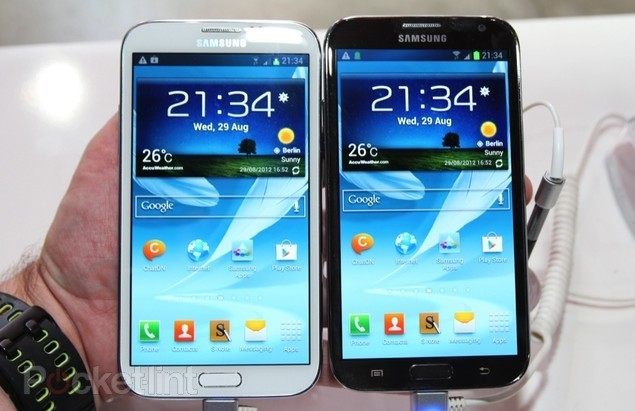 So sánh Samsung Galaxy Note II (N7100) với Galaxy Note(N7000)