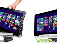 Asus Transformer AiO: Tablet lai PC màn hình 18,4 inch