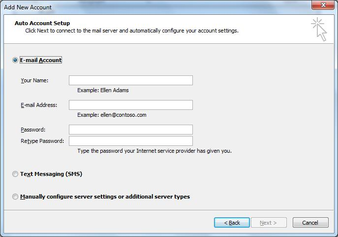 Hướng dẫn cài mail trên Outlook 2010, web24.vn, thiết kế web giá rẻ, thiết kế web, thiết kế website, thiet ke web gia re, thiet ke web thiet ke website